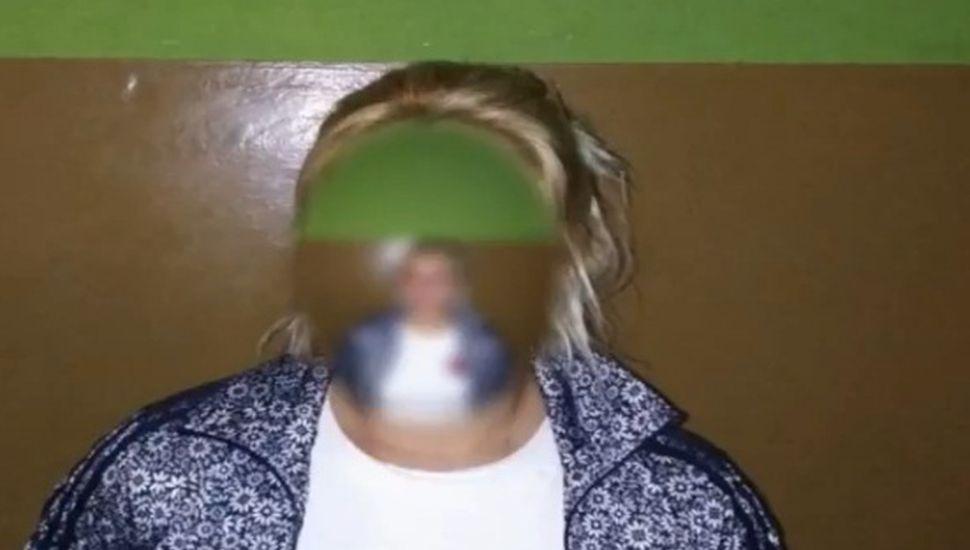 Video: cayó en Arenales la estafadora de quinielas
