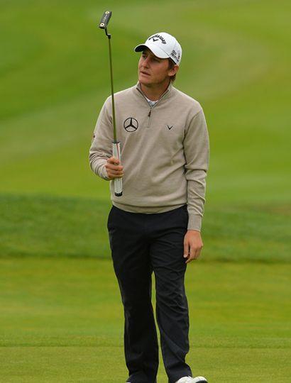 El golfista argentino Emiliano Grillo se destaca en Reno, Nevada.