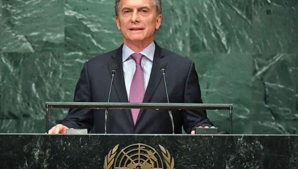 Macri viaja a Estados Unidos para participar de la Asamblea de la ONU