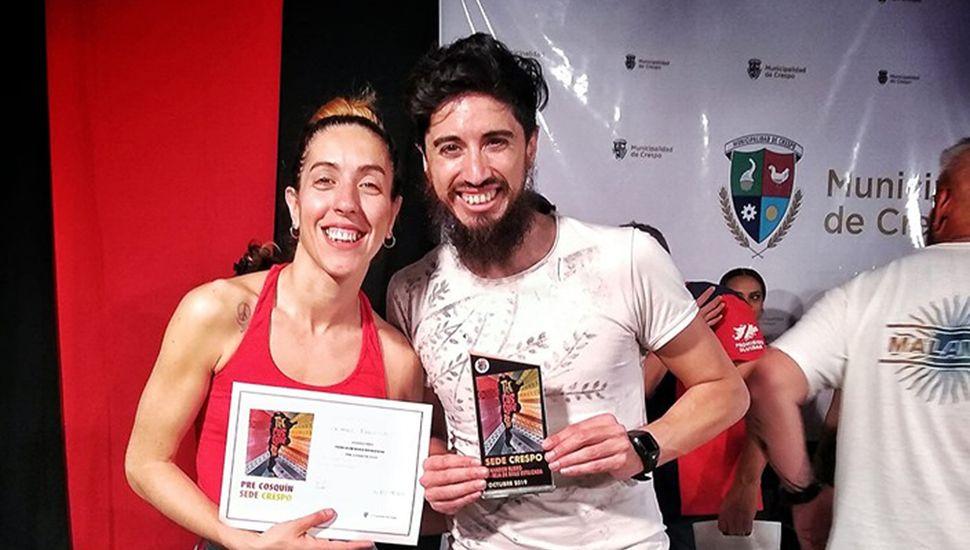 Daniela Gómez y Luis Benavídez.