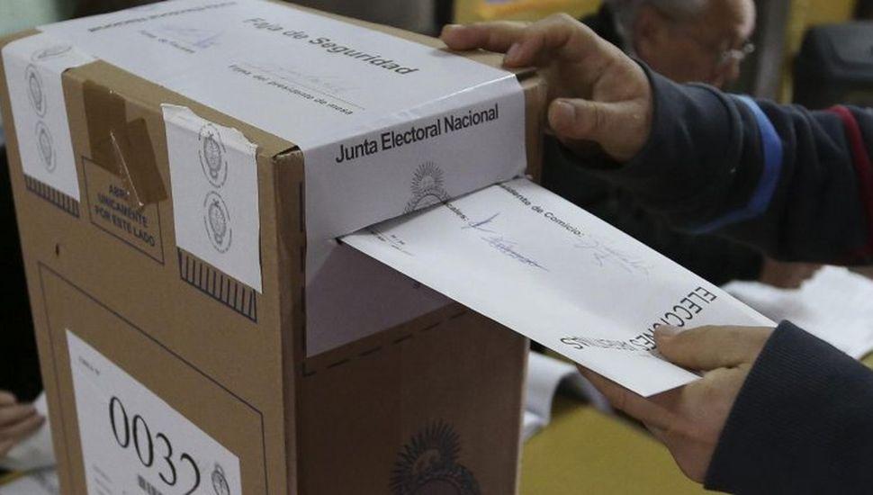 El domingo se vota en Mendoza