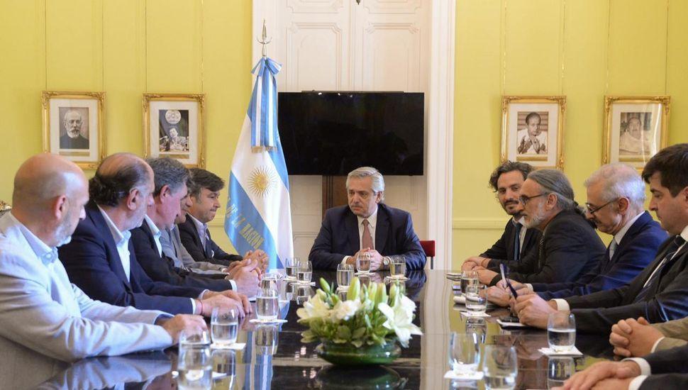 """Basterra, tras la reunión con la Mesa de Enlace: """"El campo es un socio fundamental"""""""