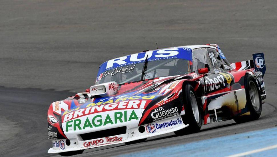 Gabriel Fernando Ponce de León quiere estar con su Ford Falcon en los puestos de adelante en la carrera del Turismo Carretera de este fin de semana, en Rafaela.