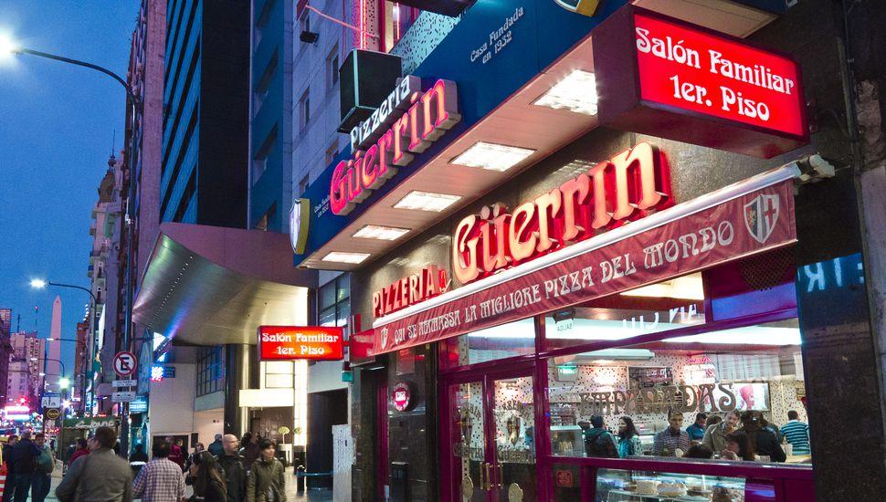 Violento robo comando a una tradicional pizzería porteña