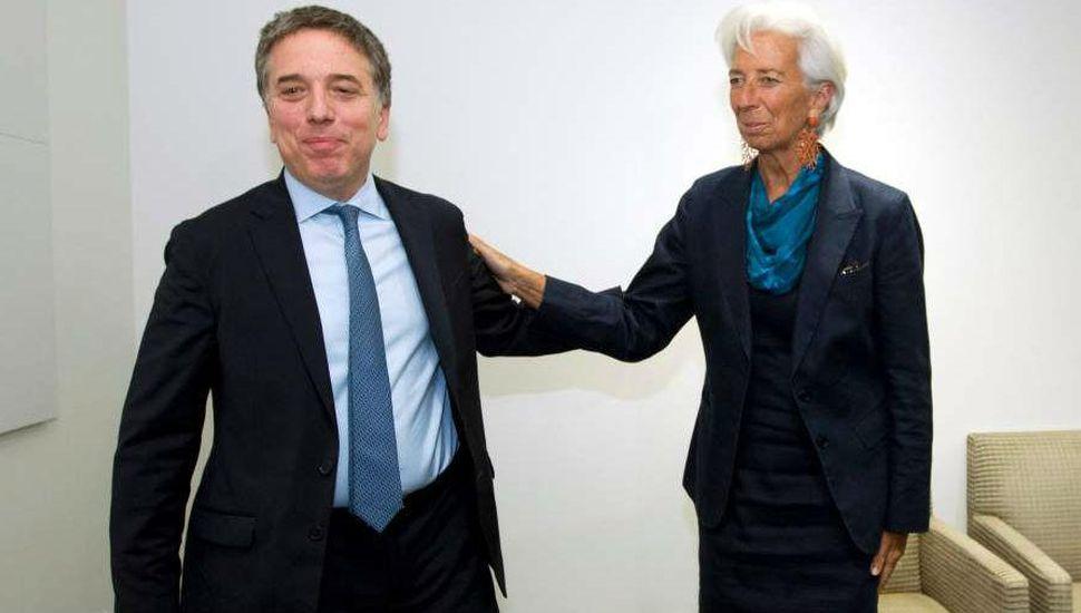Dujovne y Lagarde destacaron avances en busca de un nuevo acuerdo con el FMI