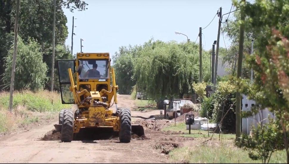Continúan los trabajos en los barrios Real, Moya y Jardín