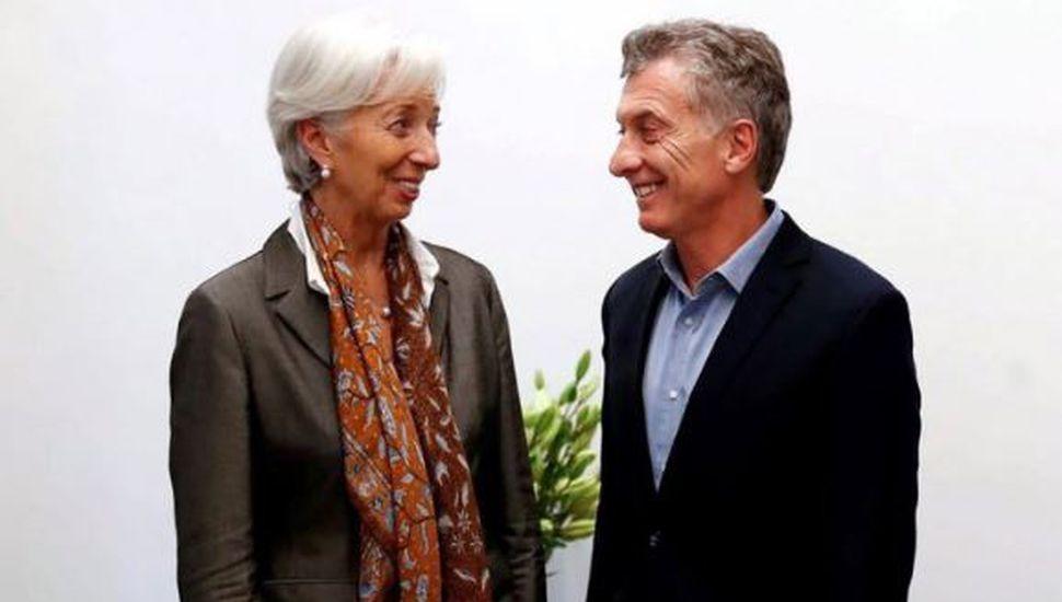 Christine Lagarde respaldó el programa económico en reunión con Mauricio Macri