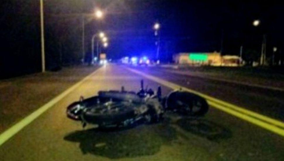 Picada fatal en Ruta 7: un muerto y un herido