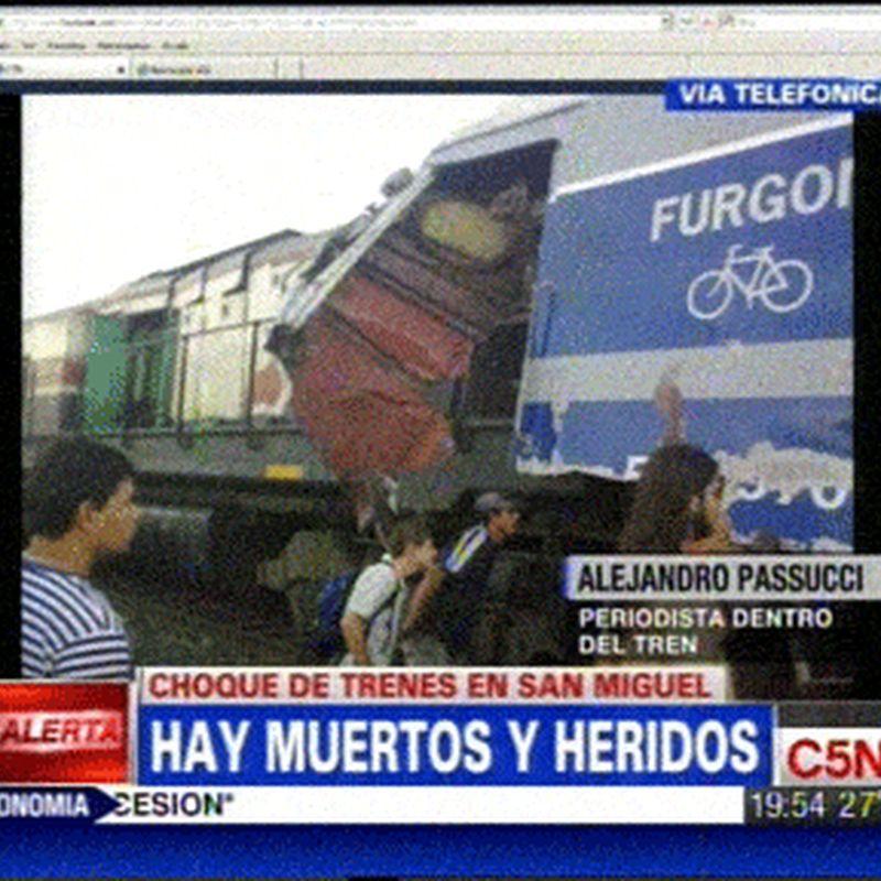 """Tren a Junín: la oposición denuncia que """"sólo se han"""