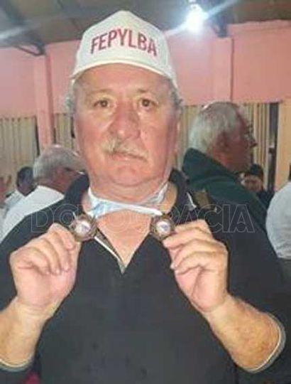 Daniel Torelli logró medallas en el nacional de pesca deportiva disputado en Mendoza.