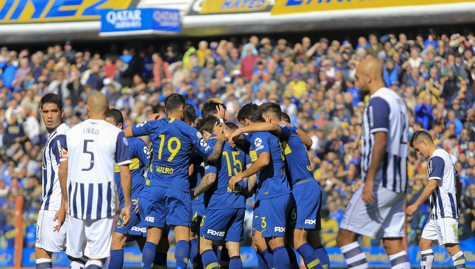 Ajustado triunfo de Boca ante Talleres en el debut