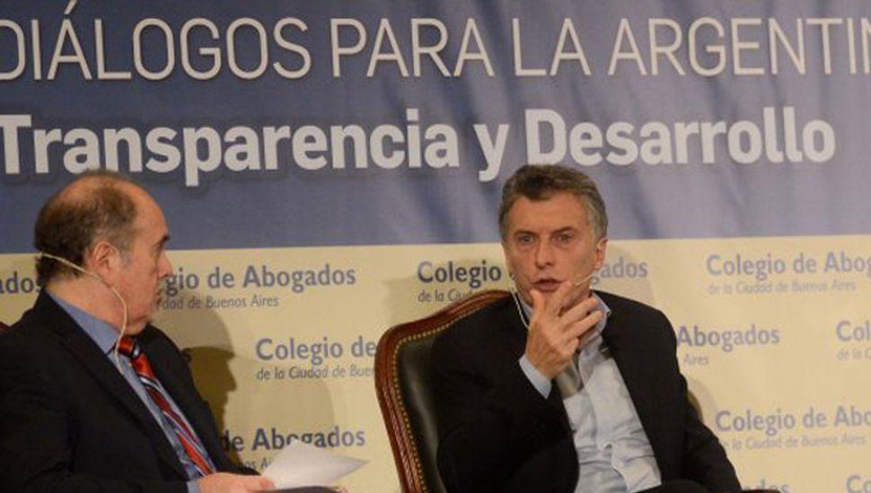 """Macri acusó a Gils Carbó de """"amparar delitos"""" durante el kirchnerismo"""