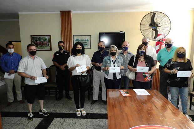 Ganadores de los premios de la última parte de la Campaña de Socios Protectores 2020.