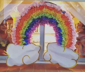 """""""Todo va a estar bien"""": cada vez más arcoiris en Arenales"""
