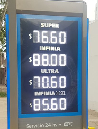 Los precios, en la Ciudad.
