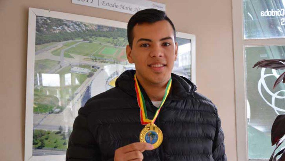 El cordobés Juan Cruz Minuet logró medalla de bronce en Bolivia.