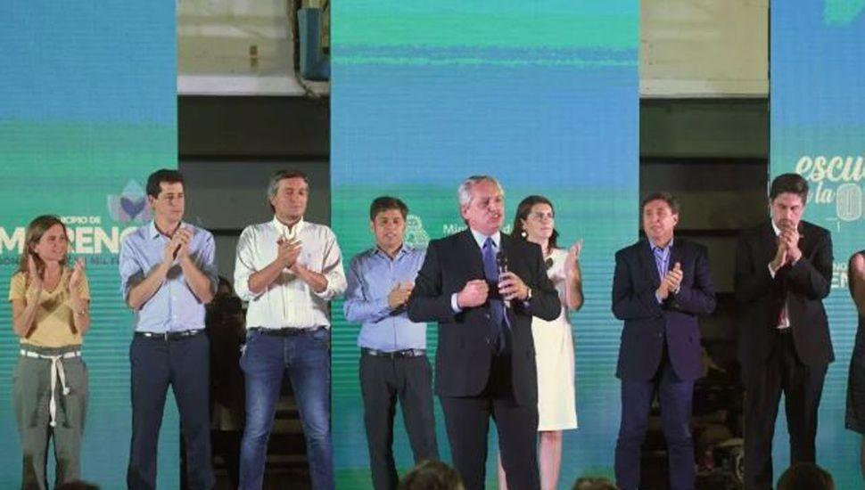 "Alberto Fernández llamó a ""recomponer la solidaridad social"""