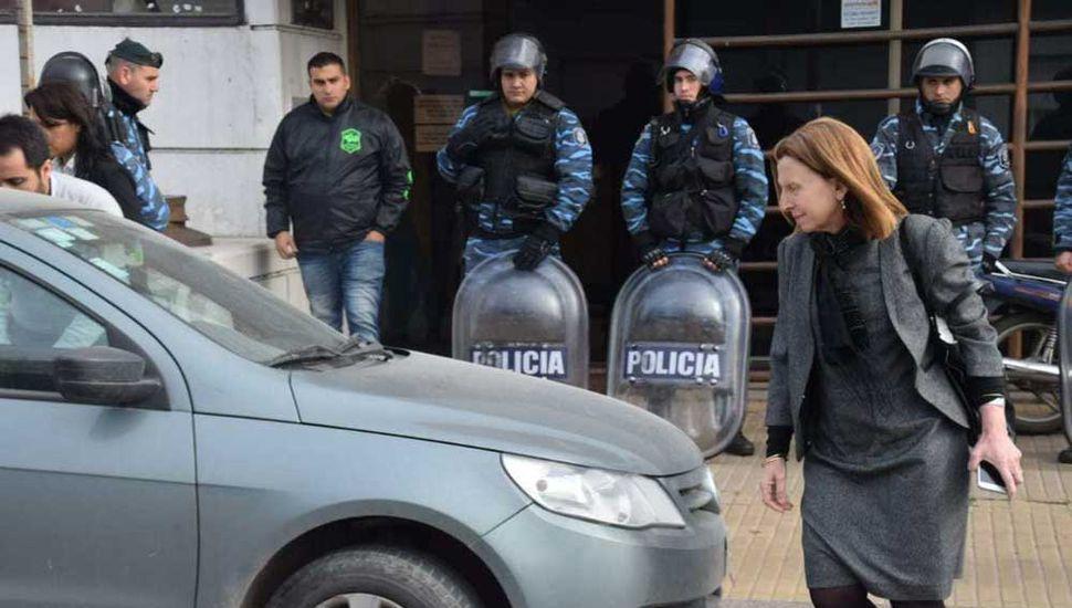 La investigación es llevada a cabo por la fiscal Dra. Viviana Beytía.