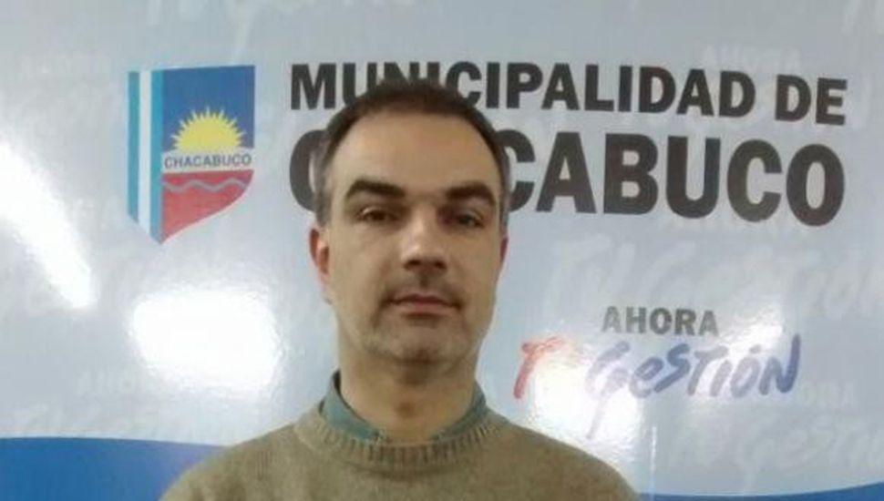 Ariel De Piero, secretario de Producción de la Municipalidad de Chacabuco.