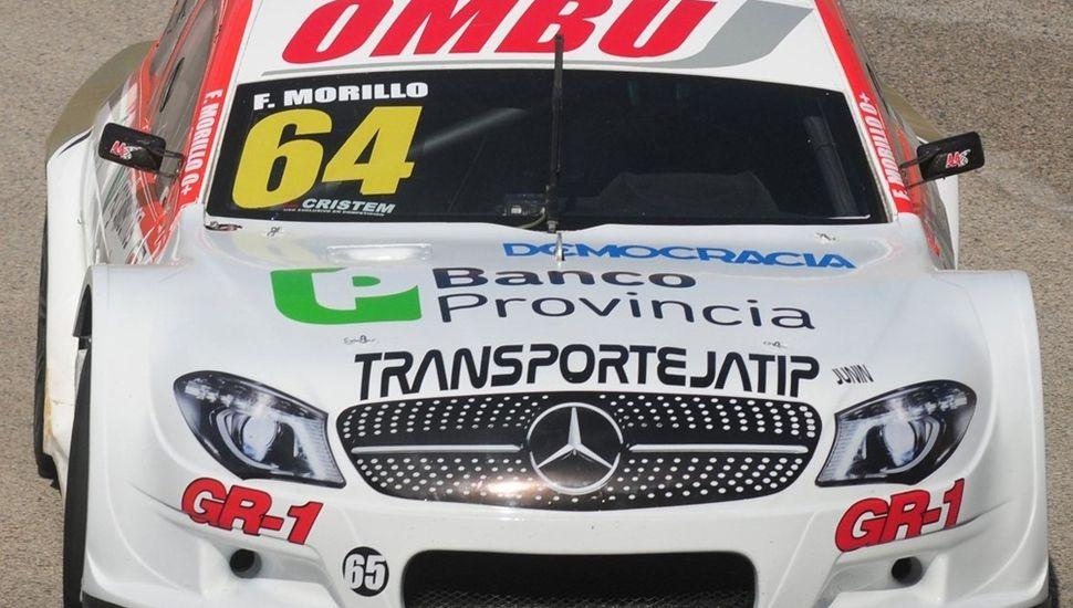Franco Morillo se ubicó 13° en los ensayos de ayer del Top Race Series.