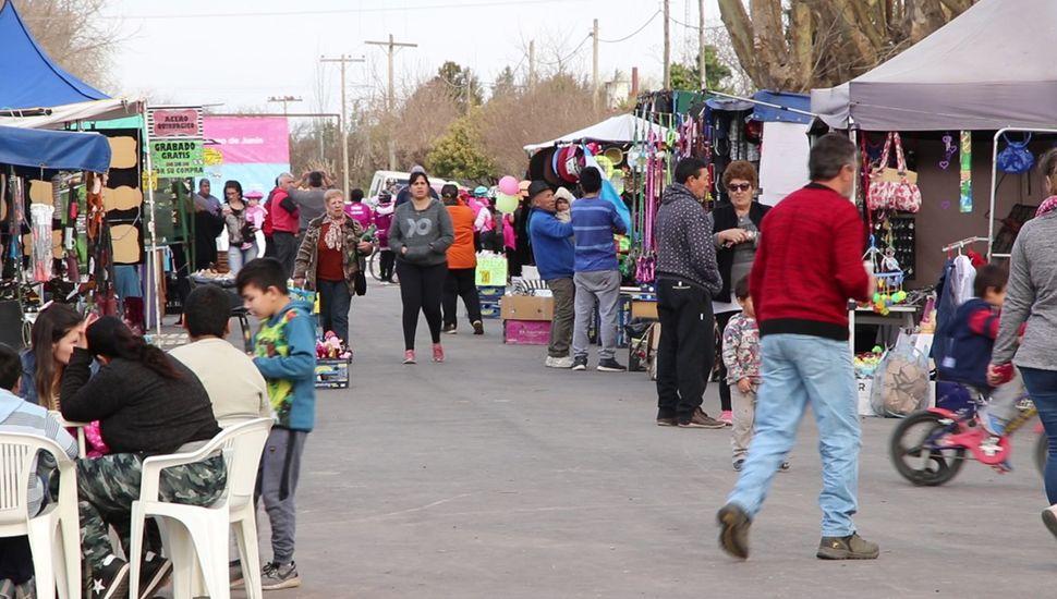 La Fiesta del Fortín continúa hoy con actividades para toda la familia.