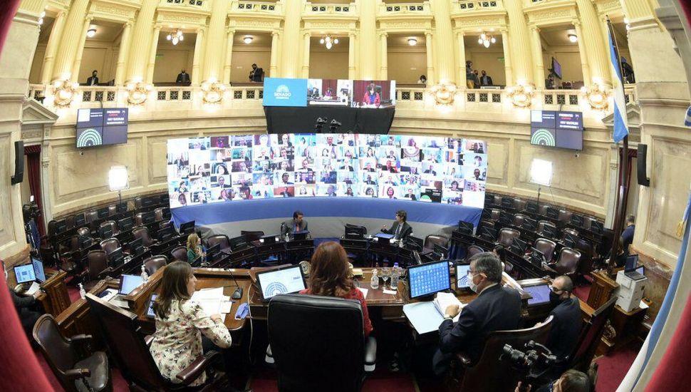 El Senado aprobó 20 decretos del Gobierno
