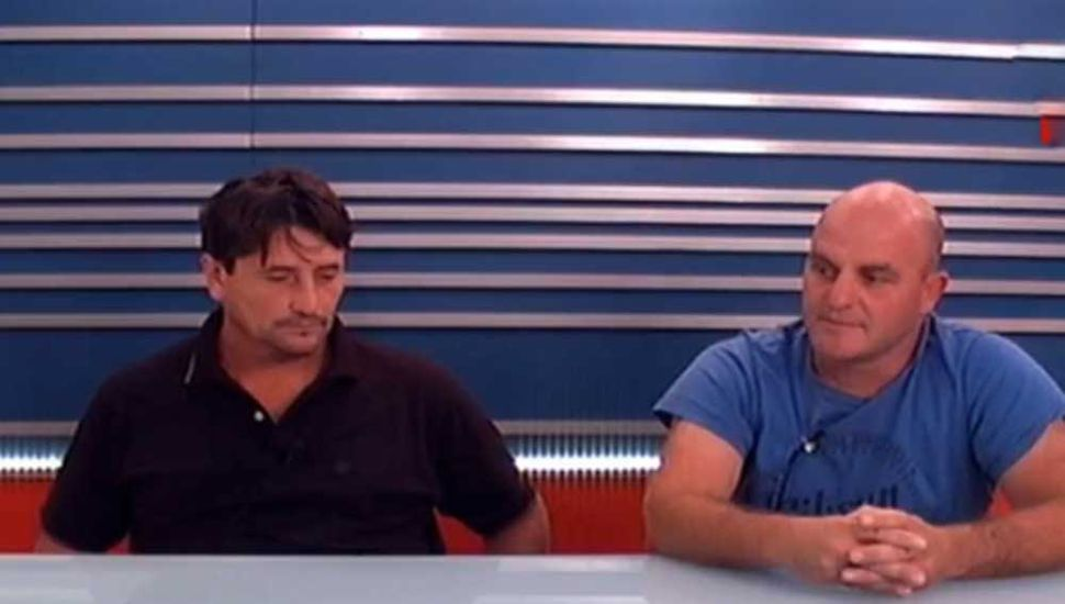 Hugo Cieri y Javier Carpinella, presidente y vicepresidente de la Cámara de Corralones del Noroeste de Buenos Aires