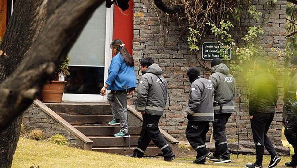En el tercer día de allanamientos encontraron carpetas sobre Bonadio y la ex mujer de Nisman