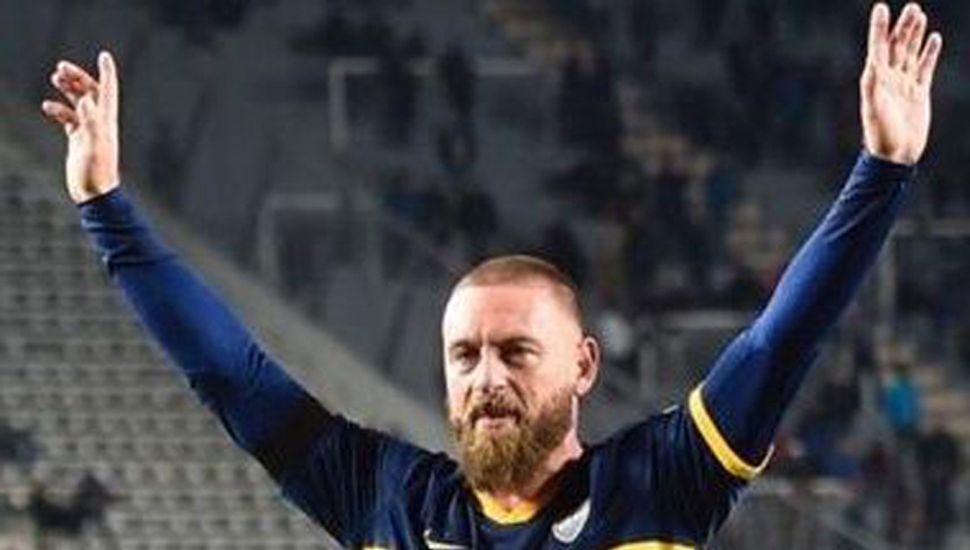 Daniele De Rossi, volante de Boca Juniors.