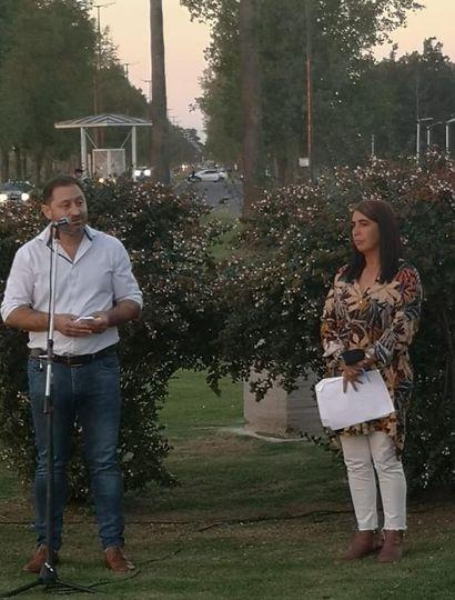 Serenal viajó a Bragado para un acto de Adelante Buenos Aires