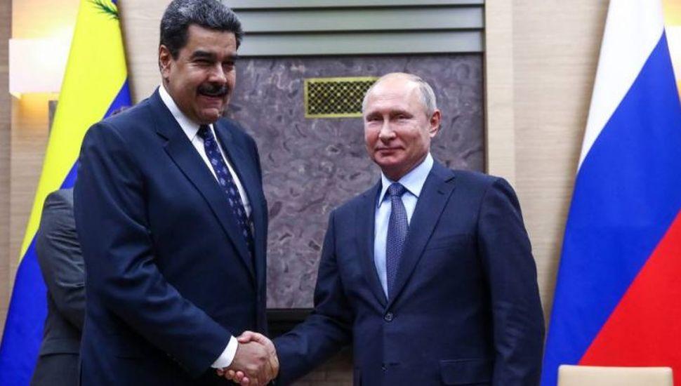 Putin le ratificó a Maduro su apoyo frente a Guaidó