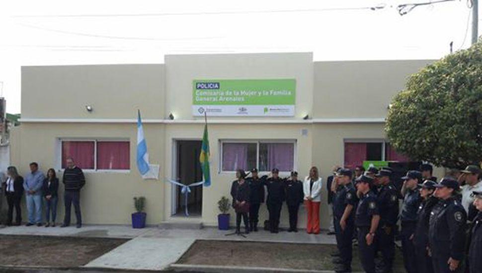 Inauguraron la Comisaría de la Mujer y la Familia en Arenales