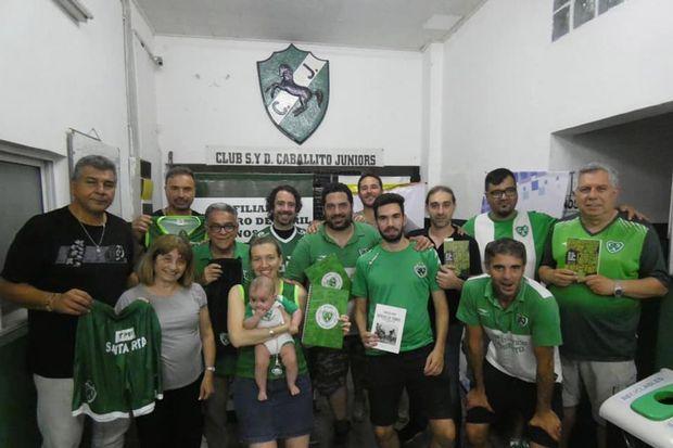 """La Filial de Sarmiento  """"1 de Abril"""" cerró el año  con un gran encuentro"""