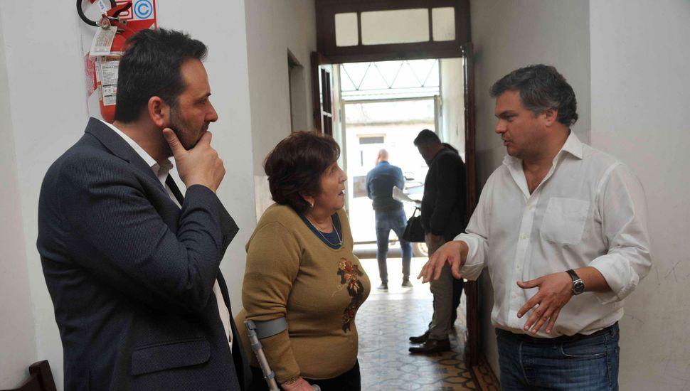 El ministro Santiago López Medrano visitó la ciudad de Chacabuco