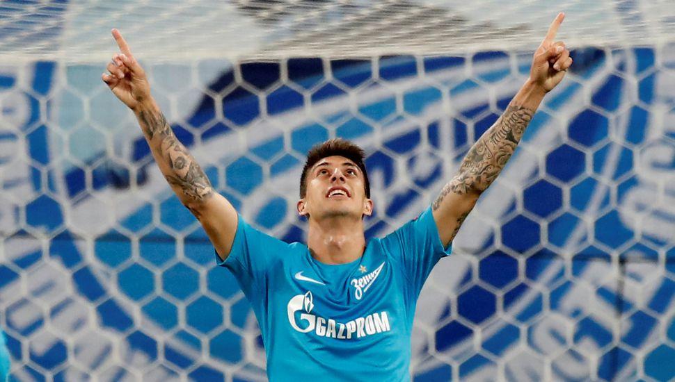 Sampaoli sonríe: triplete de Rigoni en la victoria del Zenit frente al Rosenborg por la Europa League