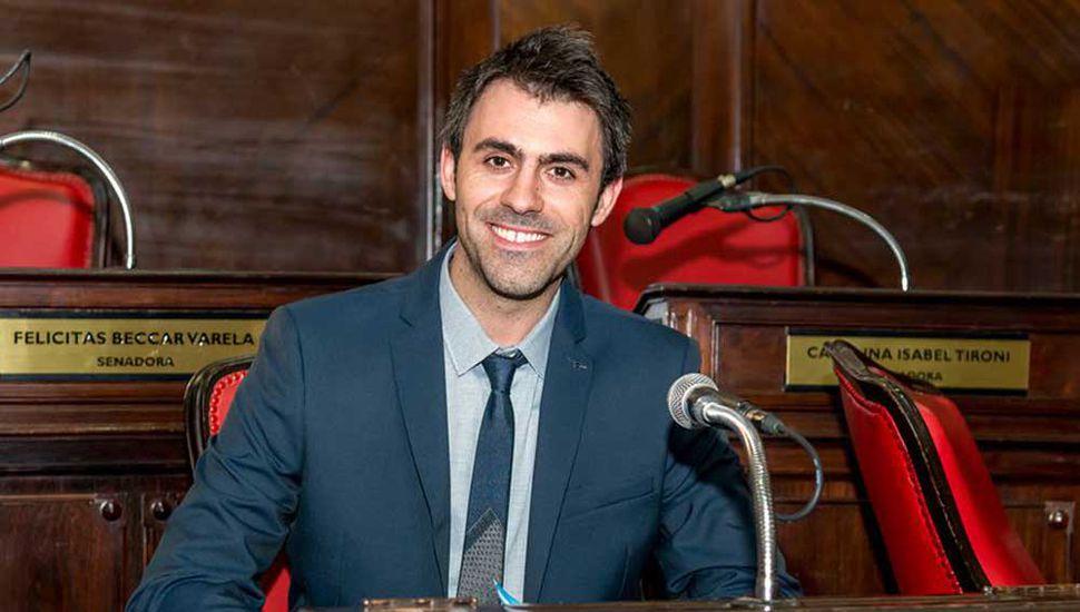 Juan Fiorini, senador por Cambiemos oriundo de Junín.