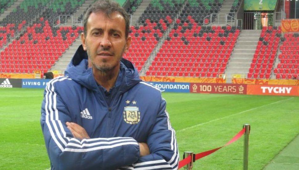 Fernando Batista será técnico del seleccionado preolímpíco