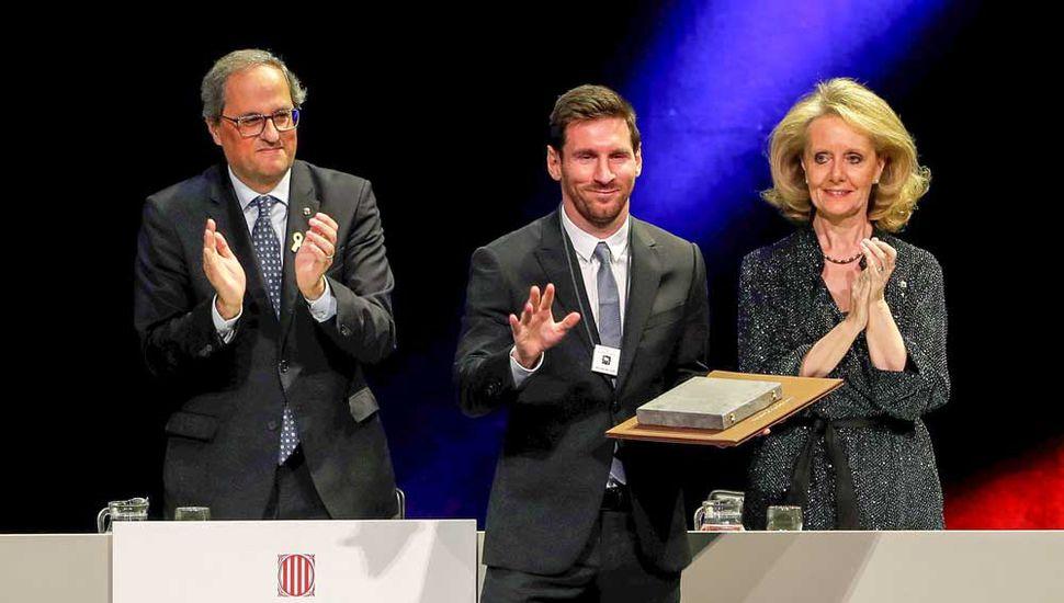 Otro premio importante para Lionel Messi.