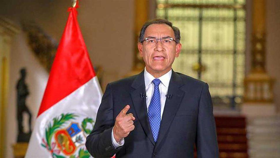 Analizan cerrar el Congreso y llamar a elecciones en Perú