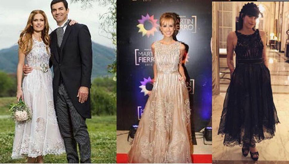 Macedo, un vestido y tres versiones