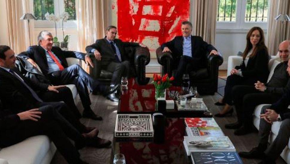 Macri compartió un almuerzo en Olivos con gobernadores y los principales referentes del oficialismo