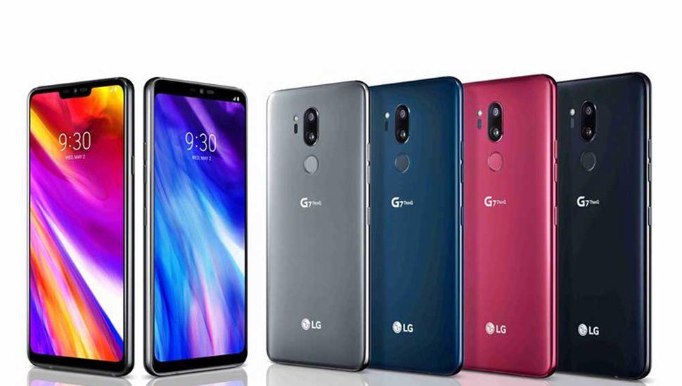 LG presentó su nuevo teléfono móvil  con pantalla sin bordes G7 ThinQ