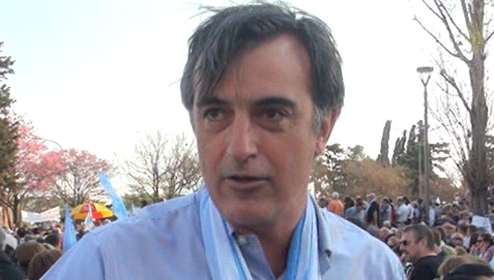 Senador Esteban Bullrich.