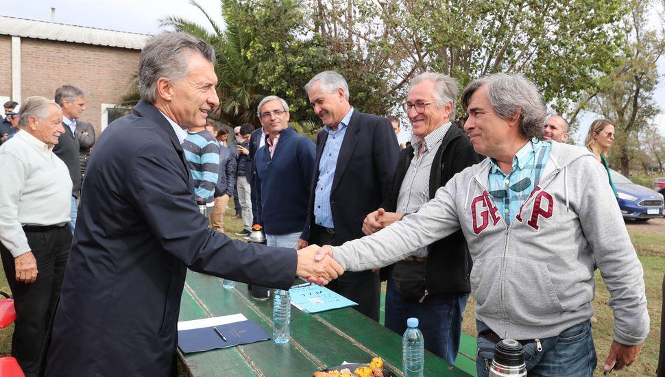 """Macri: """"El mundo duda y aumenta el riesgo país, pero Argentina no va a volver atrás"""""""