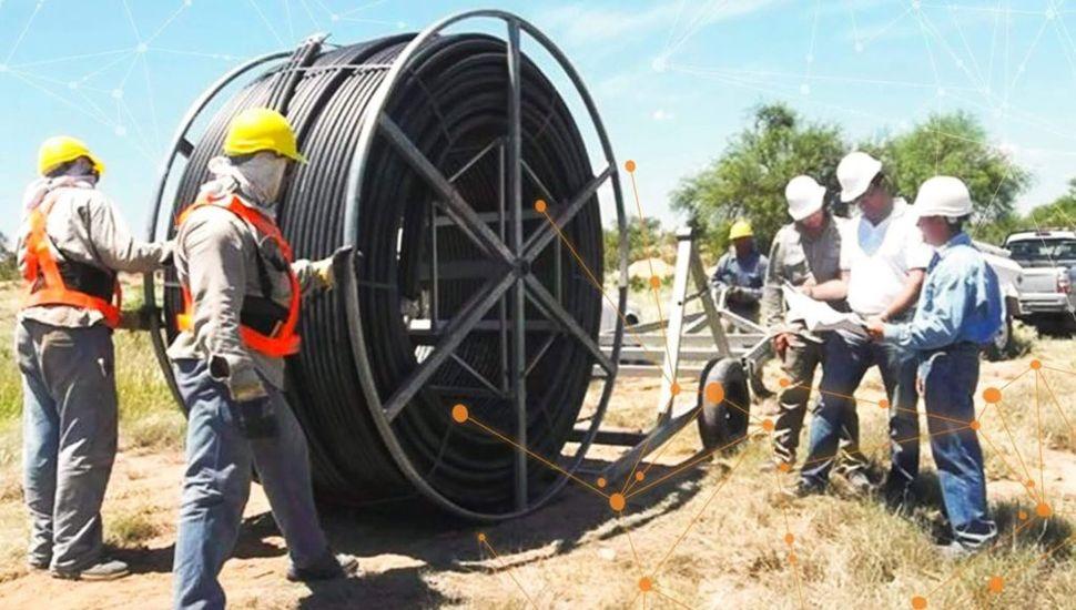 Habilitaron una inversión de $3.000 millones  para extender la red de fibra óptica