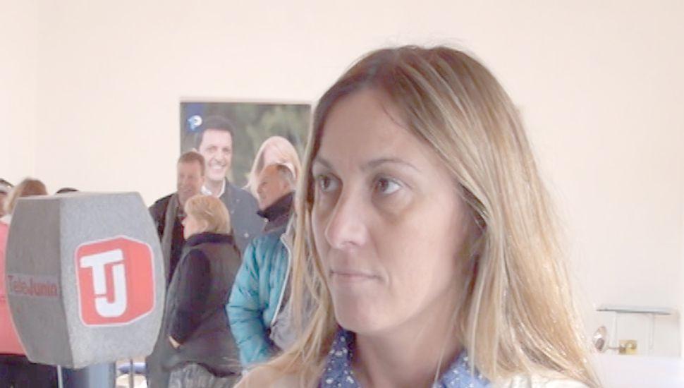 Valeria Arata, diputada provincial.
