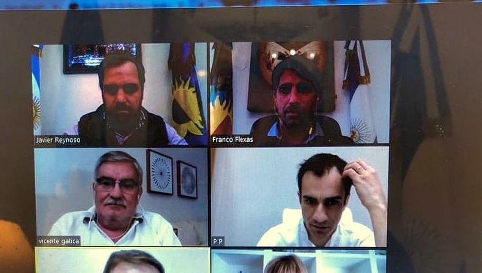 Covid en la Región: reunión de intendentes a través de Zoom