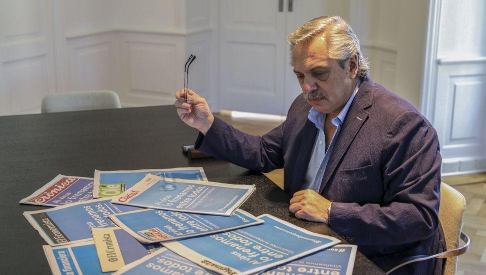 Alberto Fernández se reúne con gobernadores para informarles nuevas medidas