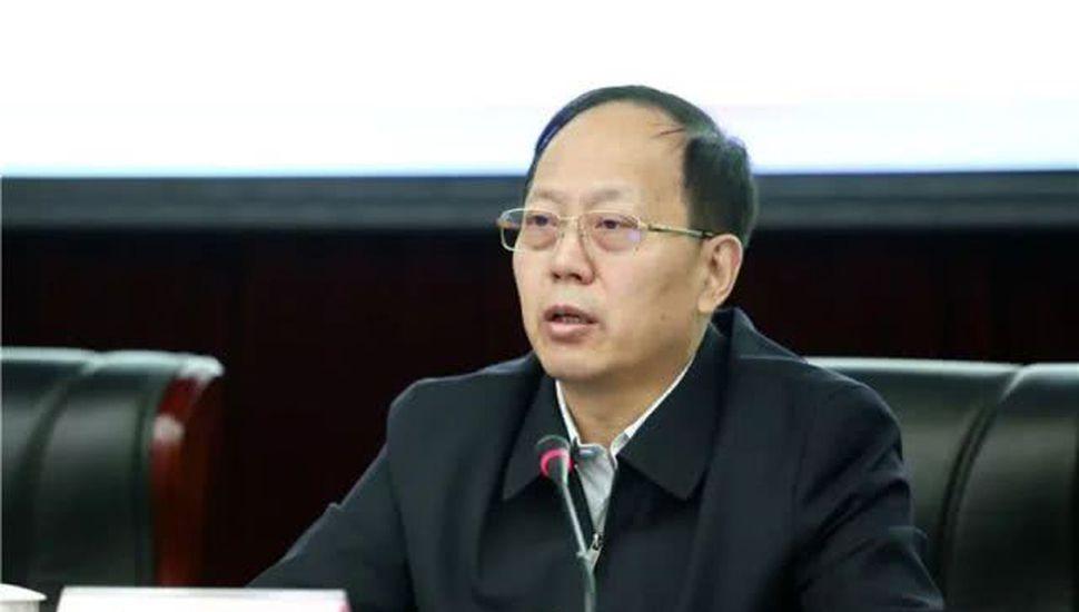 Gou Zhongwen, director de la Administración General de Deportes de China.