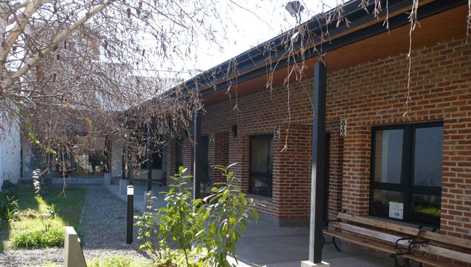 Sede de la Asociación Rural de General Viamonte, en Mitre 869.